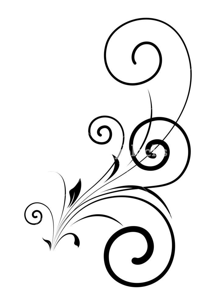 709x1000 swirl floral shape vector design swirl vector design, design