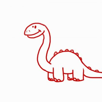 T Rex Drawing Easy