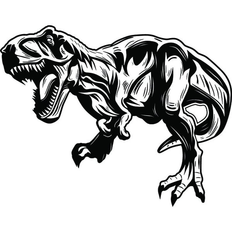 t rex ausmalbilder dinosaurier  malvorlagen