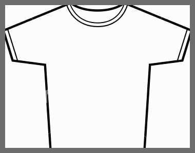 380x299 T Shirt Template Sketch Luxury Men V T Shirt Technical Drawing