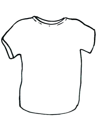 graphic about Printable T Shirt titled T Blouse Drawing Template Cost-free obtain ideal T Blouse