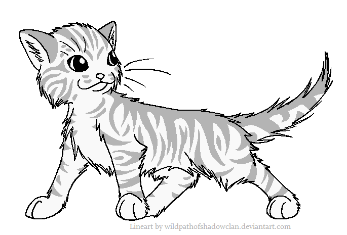 685x465 Cat Lineart Tabby For Free Download