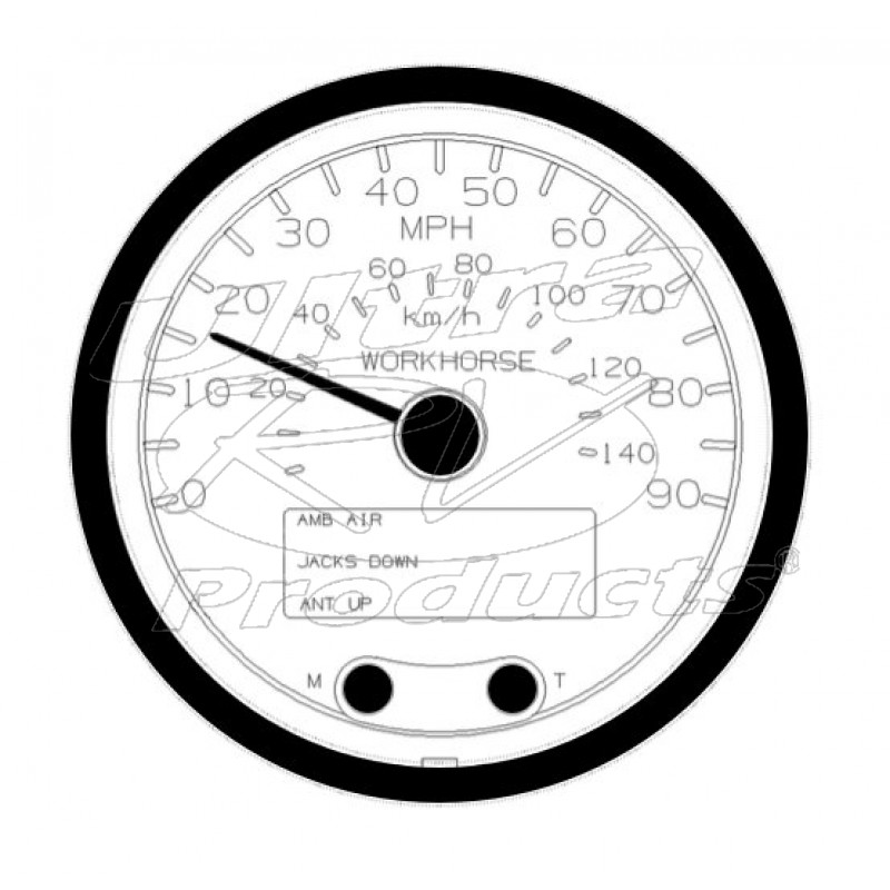 Tachometer Drawing