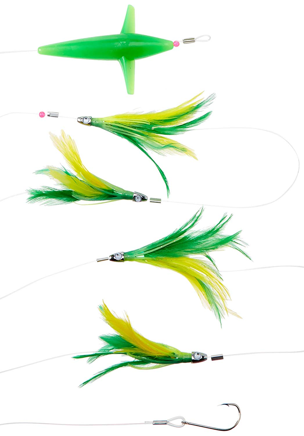 1047x1500 Eat My Tackle Offshore Fishing Lure Green Daisy Chain