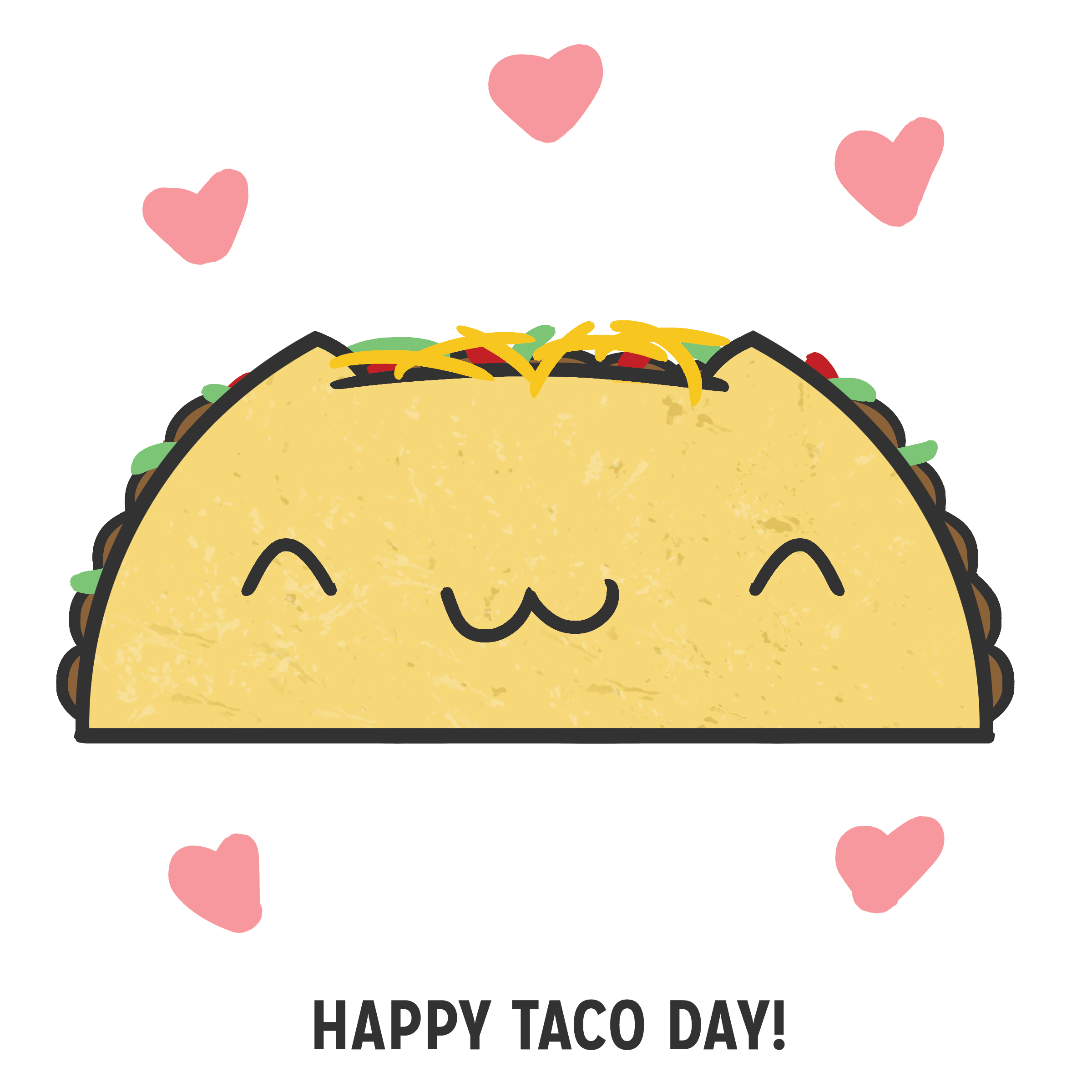 2400x2400 happy taco day! greetings !!!! tacos, taco drawing, happy taco