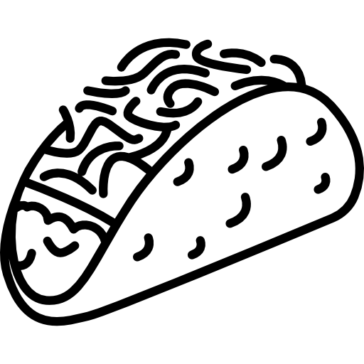 Taco drawing. Free download best on