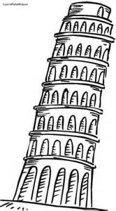 166x300 Drawings Of The Leaning Tower Of Pisa