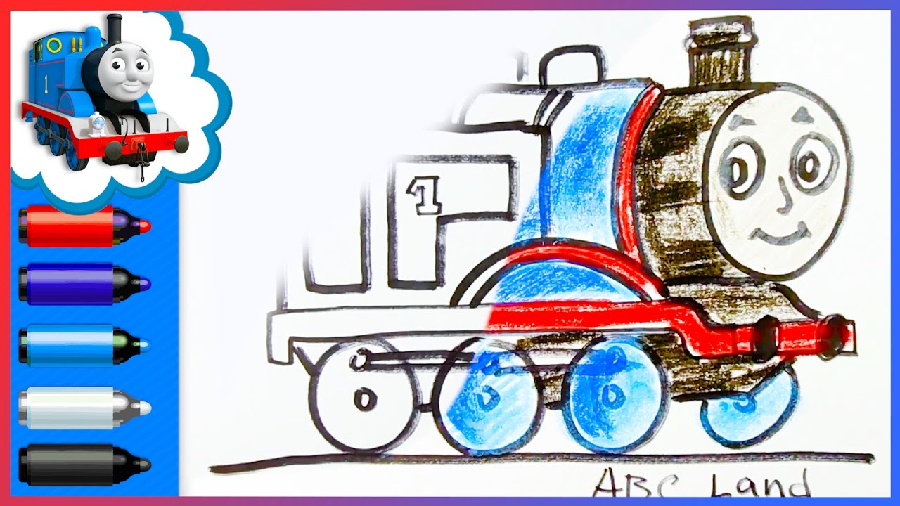1280x720 thomas and friends how to draw thomas the tank engine