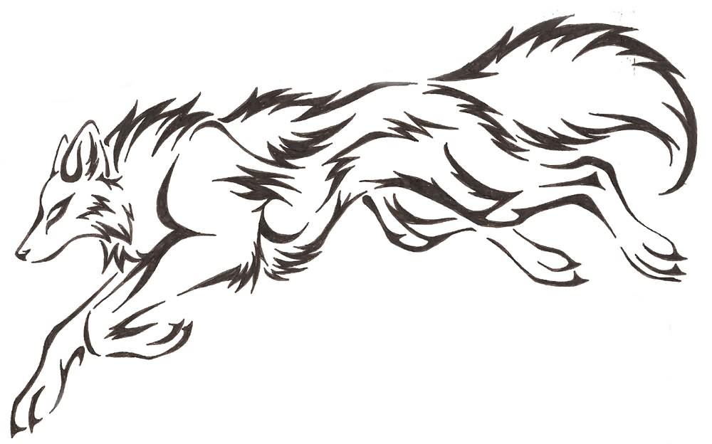 1000x624 Wolf Tattoo Drawing Ideas