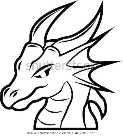 426x470 dragon head drawing dragon head drawing dragon head tattoo cool