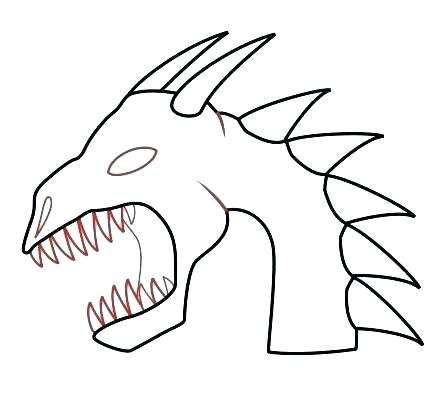 447x396 Dragon Easy How To Draw A Dragon Easy But Cool Tutorial Easy