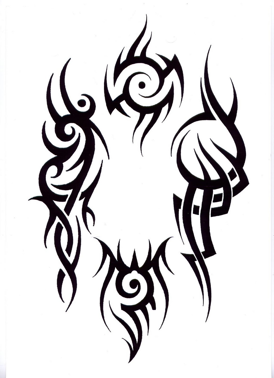 1162x1600 Om Drawing Tribal For Free Download