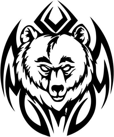 400x479 Tattoos For Men Tribal Bear Claw Drawing Ideas And Designs