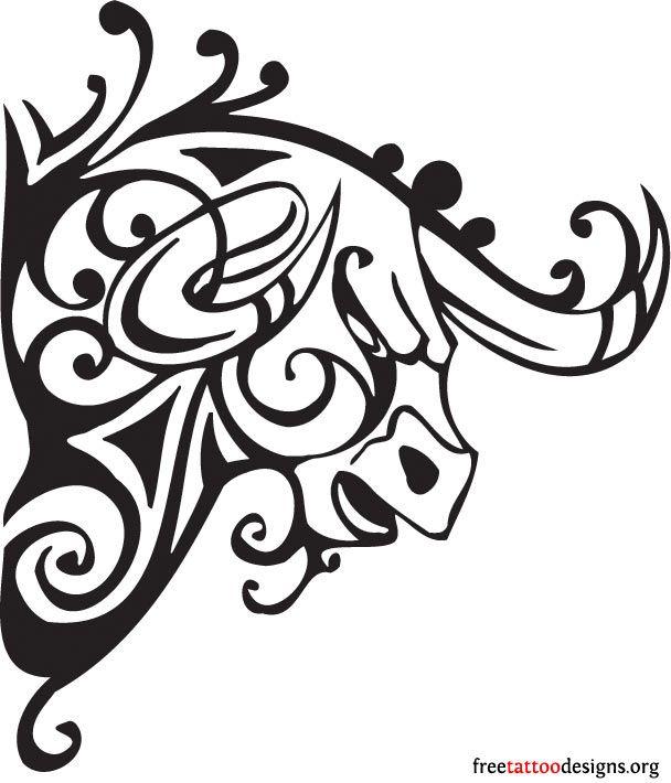 608x710 raging bull tattoo design tattoos taurus tattoos, bull tattoos