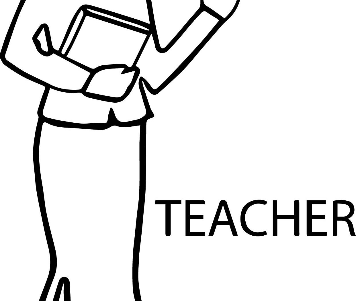 Teachers day drawing free download best teachers day