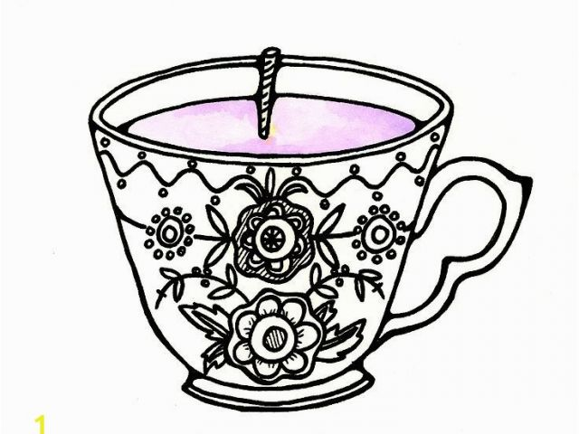 640x480 free printable tea cup coloring pages tea cup coloring