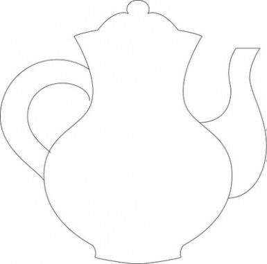 photo regarding Teapot Template Free Printable known as Teapot Drawing Alice Inside Wonderland Absolutely free down load ideal