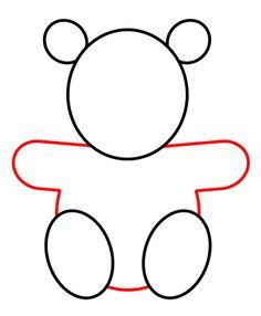 Teddy Bear Drawing Easy