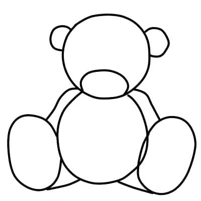 400x400 Drawing Of Teddy Bear Comments Drawing Teddy Bear Easy
