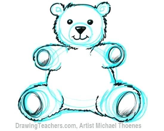 550x440 drawing of teddy bear how to draw a teddy bear step teddy bear