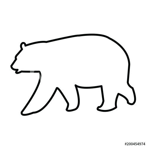 500x500 bear outline panda bear draw we panda teddy bear outline drawing