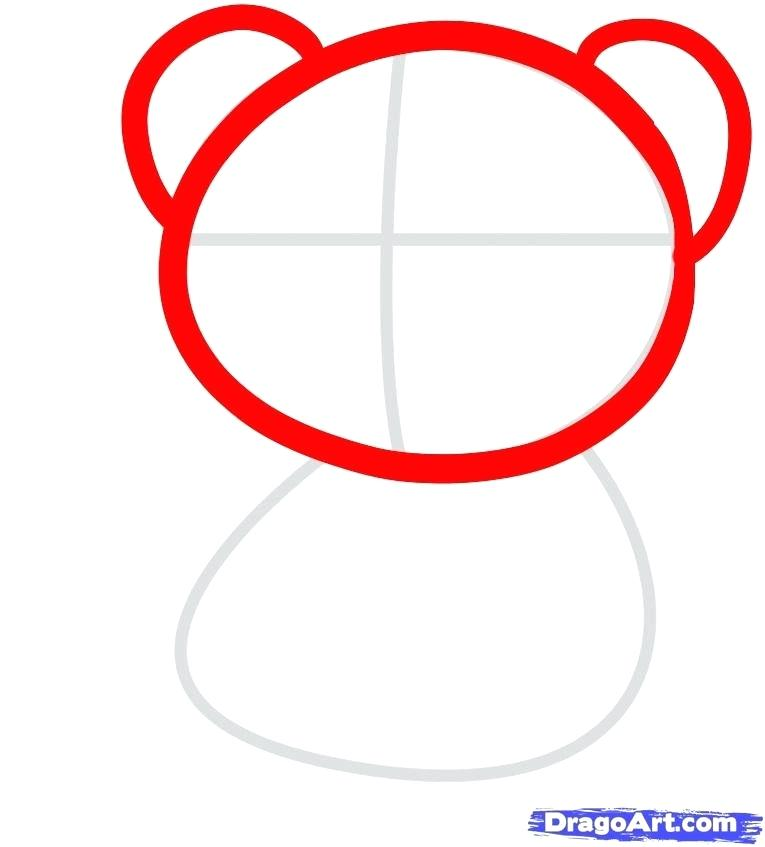 765x847 How To Draw A Teddy Bear For Kids How To Draw A Teddy Bear