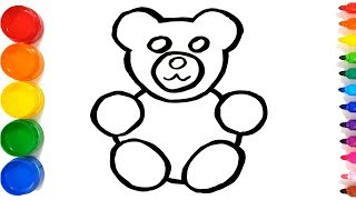 320x180 All Clip Of How To Draw A Teddy Bear Easy
