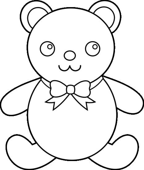 466x550 All Cute Teddy Bear Drawings Step