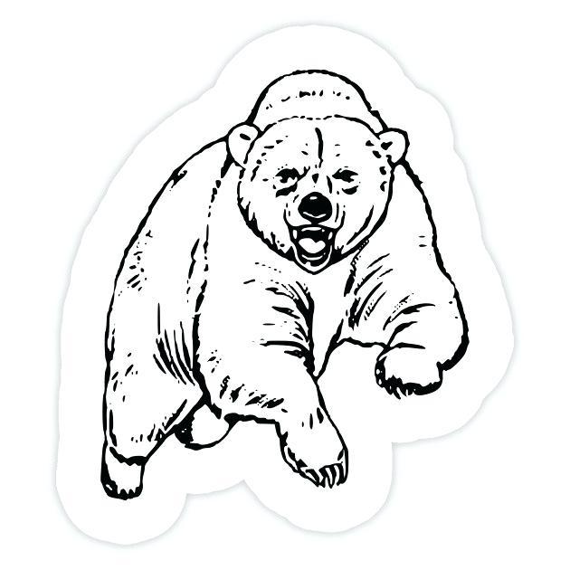 630x630 Simple Bear Drawings Bear Sticker Simple Teddy Bear Drawings