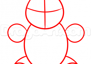 300x210 Teddy Bear Drawing Steps Pencil And In Color Rhus Ways