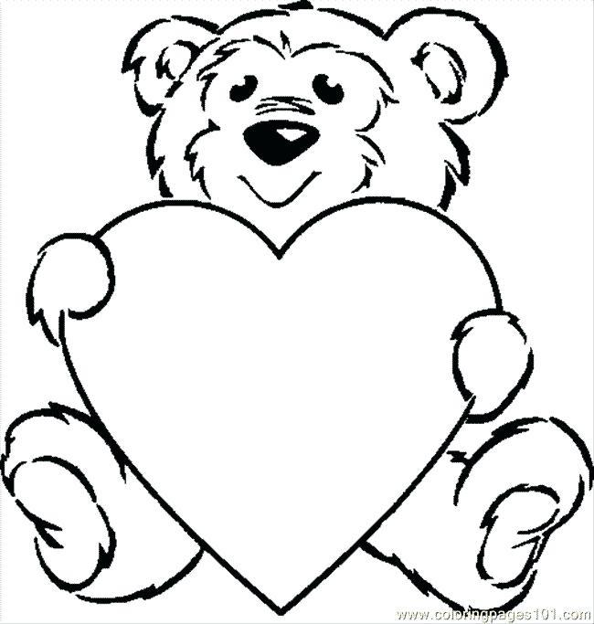 650x683 Drawing Teddy Bear
