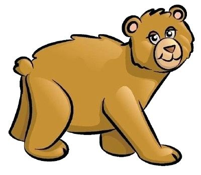 400x349 Cartoon Bear Drawing Rude Cartoon Bear How To Draw A Teddy Bear