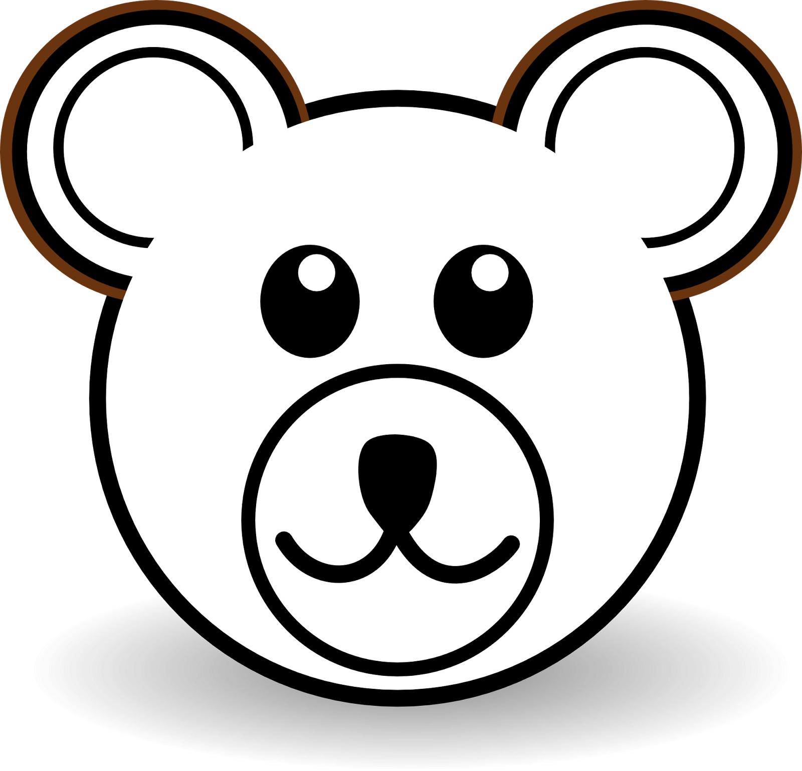 1600x1539 Easy Bear Drawing Clip Art For Free Download On Mbtskoudsalg