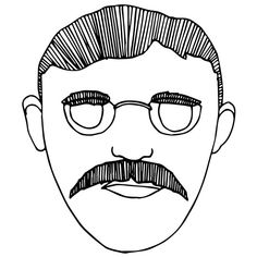 Teddy Roosevelt Drawing