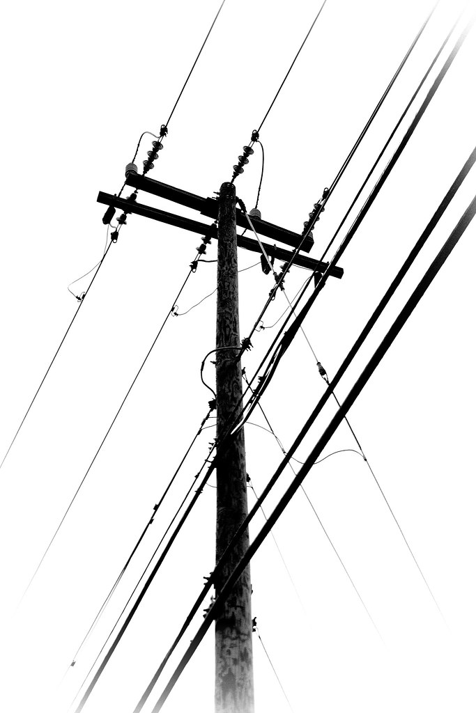 683x1024 Old Telephone Wires