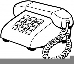 300x259 Telephone Clipart