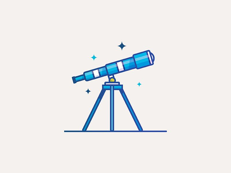800x600 tele pl website redesign telescope drawing, graphic design