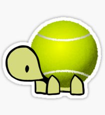 210x230 Tennis Ball Drawing Stickers Redbubble