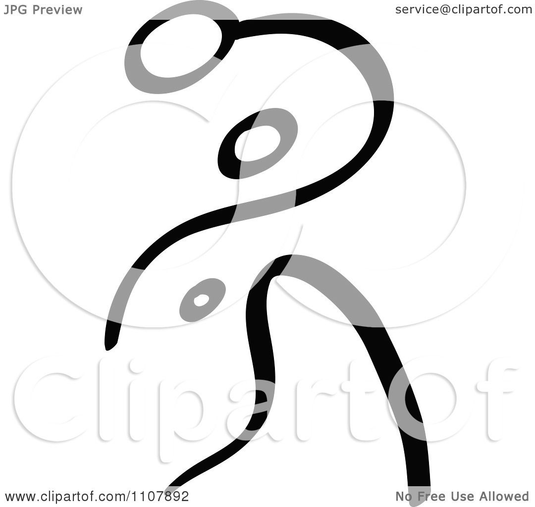 1080x1024 Clipart Black And White Stick Drawing Of A Tennis Player