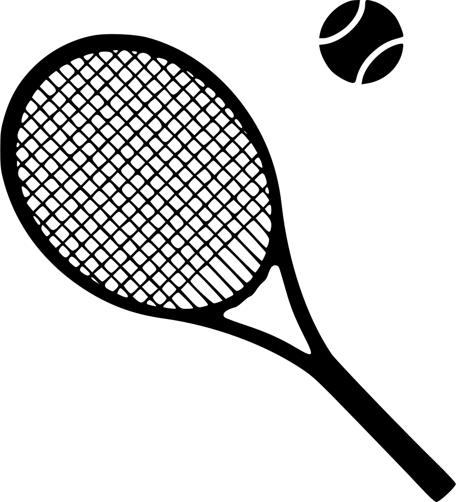 890x980 Collection Of Free Tennis Drawing File Download On Ui Ex