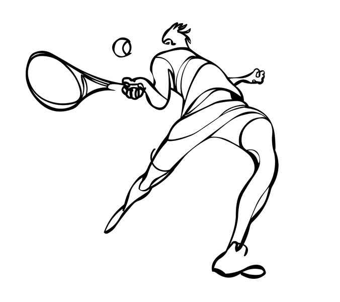 676x600 Kyle T Webster An Old Tennis Drawing Of Mine If Any Art