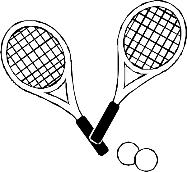601x554 Tennis Drawing Images At Getdrawings Com