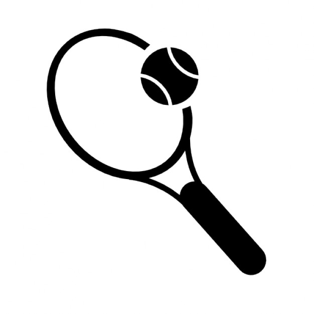 626x626 Tennis Vector Drawing