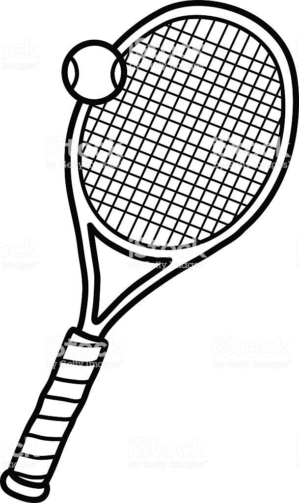 609x1024 tennis racquet and ball clip art tennis racket drawing