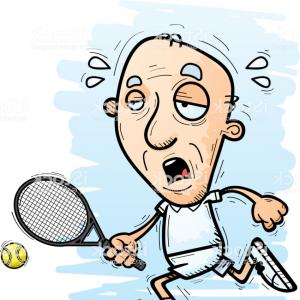 300x300 Stock Illustration Tennis Player Isolated Vector Drawing Sohadacouri