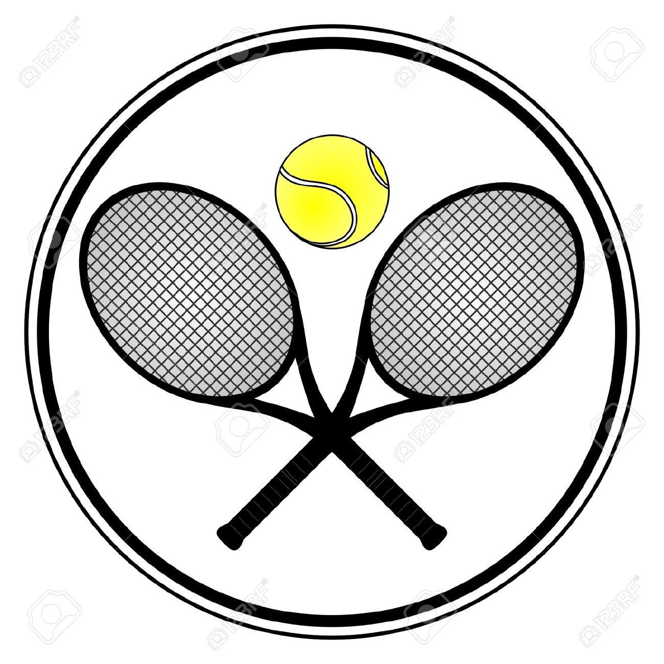 1300x1300 Up Close Tennis Racket Drawings