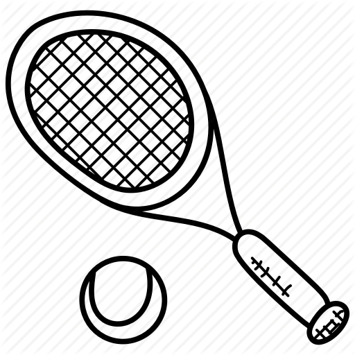 512x512 Badminton, Sports, Tennis, Tennis Ball, Tennis Racket Icon