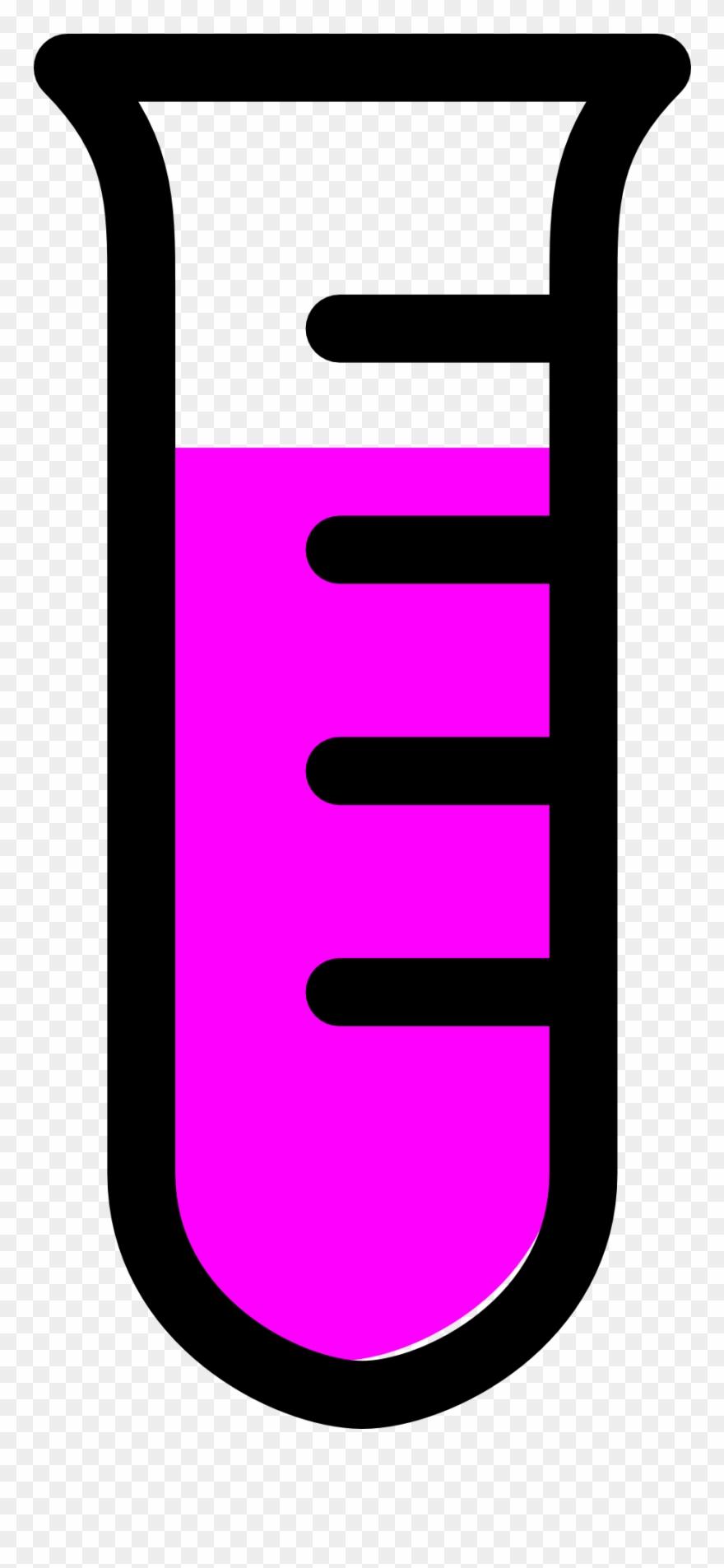 880x1905 Empty Test Tube Clipart