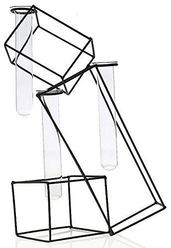 344x500 Geometric Trapezoid Wire Test Tube Vase Tubes Wedding