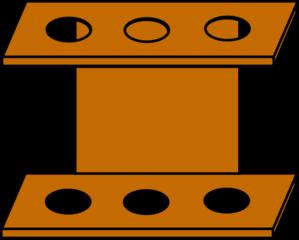 299x240 Test Tube Rack Clip Art